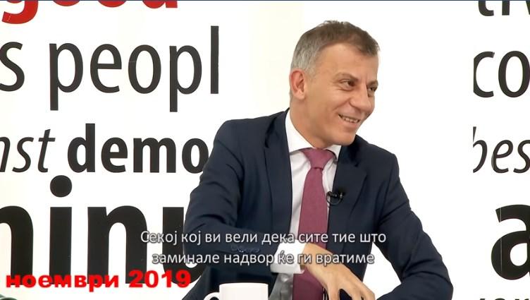 Уште еден министер на Заев призна дека премиерот во заминување лаже