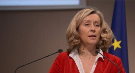 Потпретседателката на францускиот Сенат Конве-Муре во Скопје