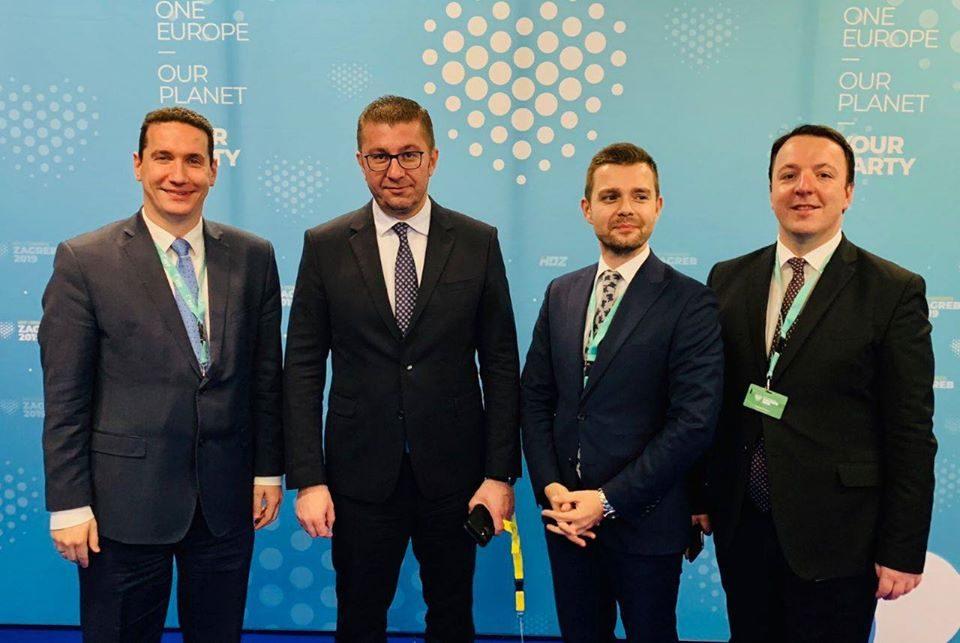 Александар Николоски во 17:30 часот во вестите на Алфа, дирекно од конгресот на Европската народна партија