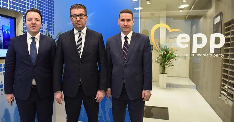 Мицкоски ќе се обрати на конгресот на ЕПП: На агендата билатерални средби и состанок со Претседателот на Европскиот совет, Туск