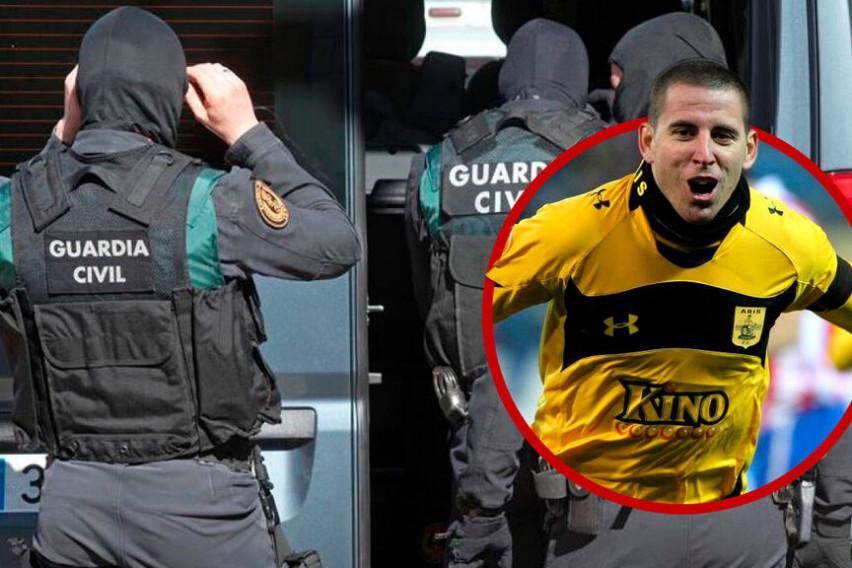 Поранешн фудбалер е шеф на нарко мафија, уапсен е со еден тон дрога!