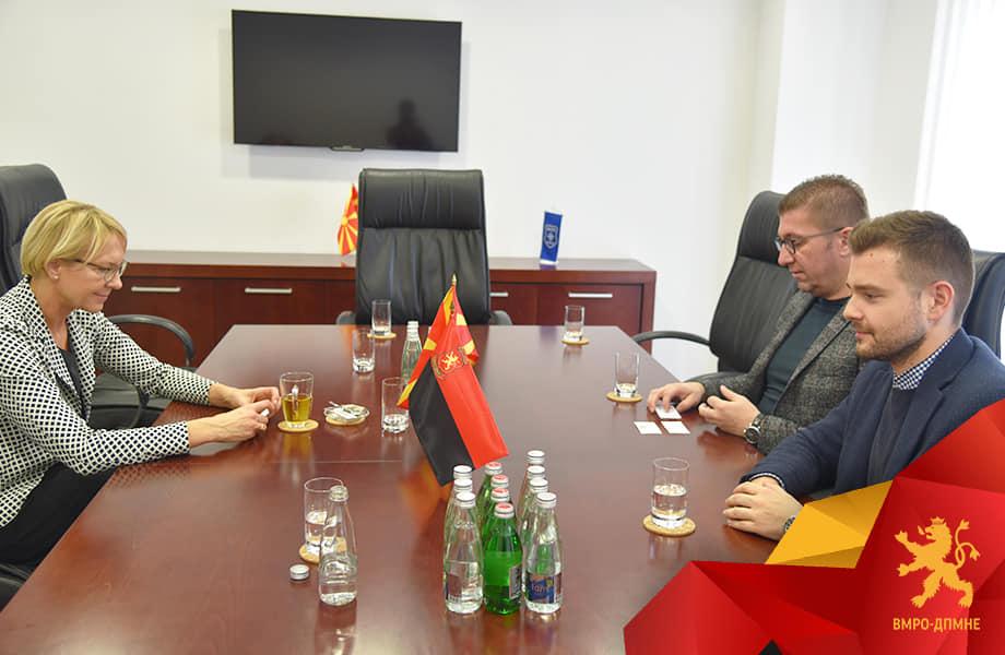 Мицкоски-Панторе: Веднаш по преземањето на власта ВМРО-ДПМНЕ ќе се посвети исполнување на клучните реформи
