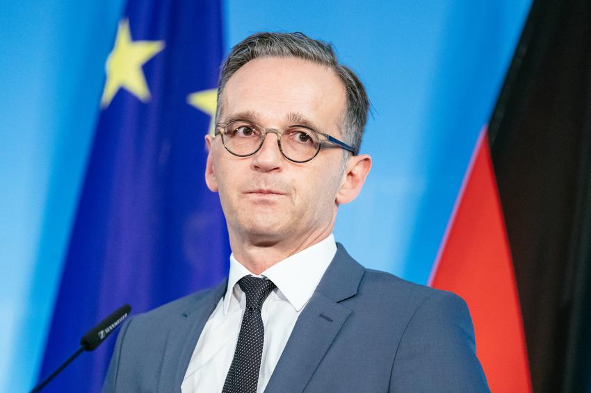 Шефот на германската дипломатија Хајко Мас в среда во Скопје