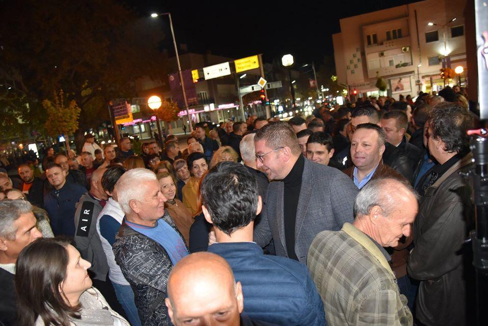 Мицкоски: Повеќе од 35 илјади проблеми од граѓаните стигнаа до ВМРО-ДПМНЕ
