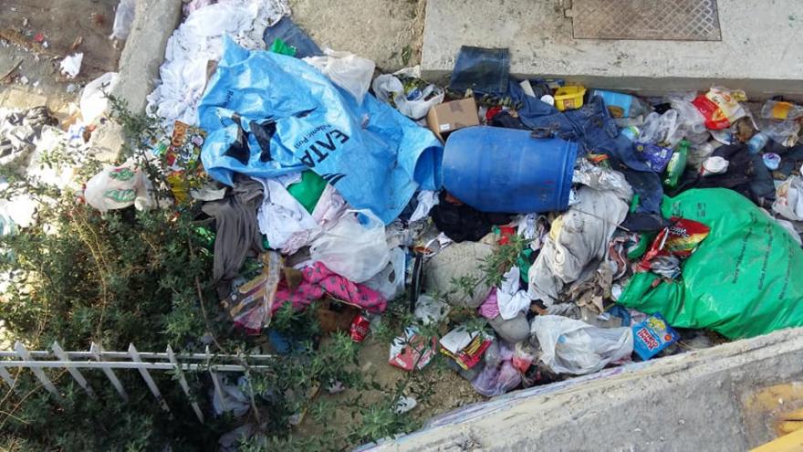 По акцијата за чистење под Железничка станица, таму повторно е полно со ѓубре