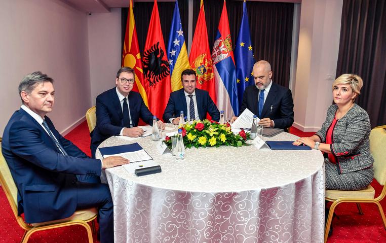 Почна работниот дел на состанокот на лидерите на Западен Балкан