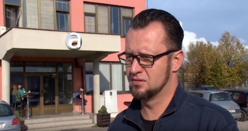 """Новинарот Цветановски од """"Алфа"""" по нападот: Не се чувствувам безбедно во Скопје"""
