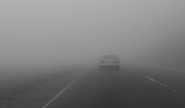 Внимавајте има магла на патиштата