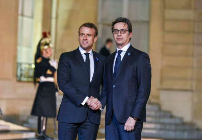 Пендаровски директно од Макрон денеска ќе ги слушне ставовите на Франција за проширувањето