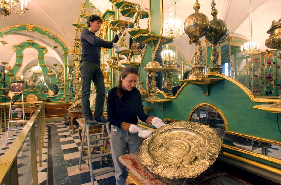 Ограбен музеј на накит во Дрезден, штетата над милијарда евра