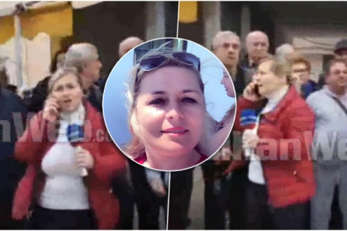 """Новинарка од Драч поминала 60 часа на терен, во """"куфер"""" го носела своето бебе"""