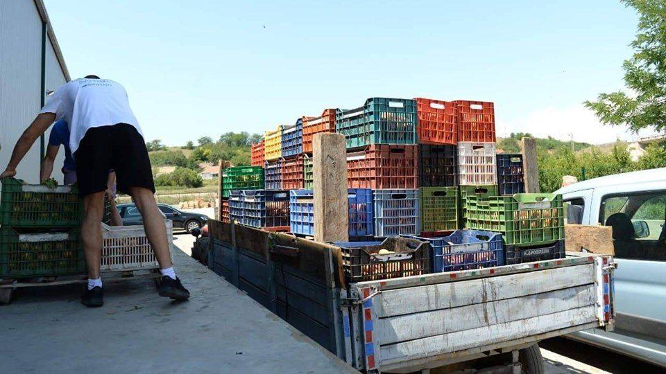 Жителите на Градско го сонуваат откупниот центар за земјоделски производи
