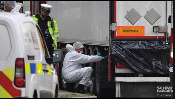 Во Виетнам апсење на осомничени во врска со починатите во камионот ладилник