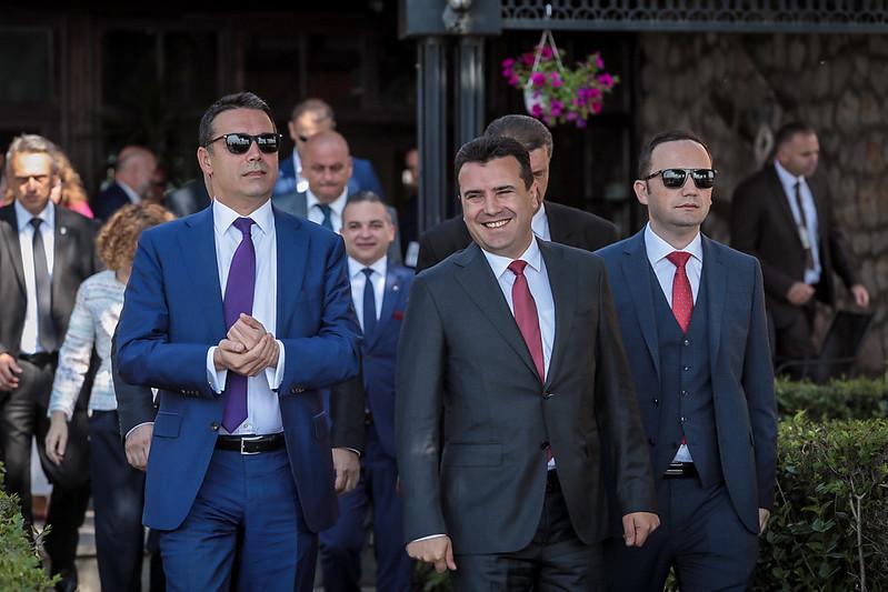 Заев, Димитров и Османи утре во Софија