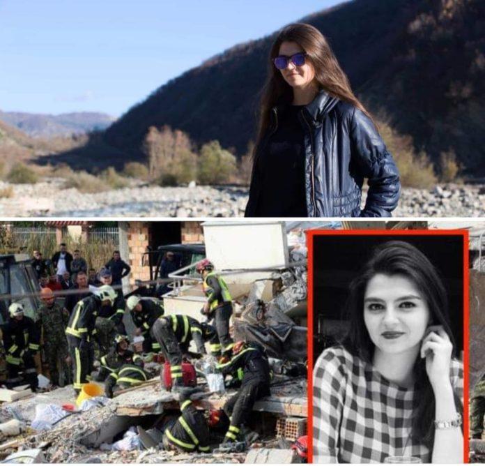 Албанските медиуми потврдија: Девојката на синот на Рама загина во земјотресот
