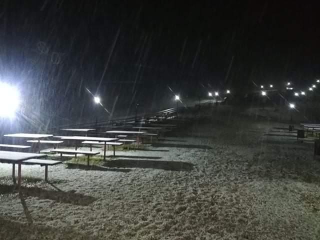 Снегот пристигна во Македонија