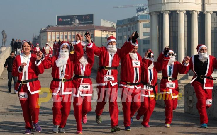 Започна пријавувањето за традиционалната Дедомразовска трка во Скопје