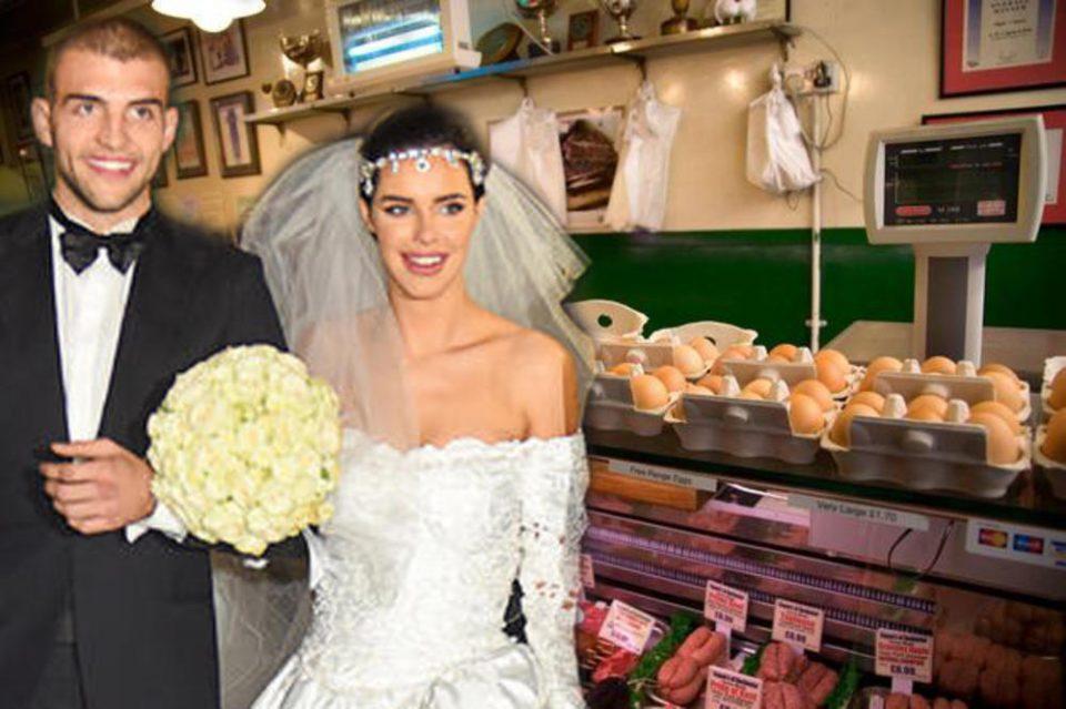 Парите од свадбата одат за месарница: Иако богато се омажи, Богдана не се откажува од занаетот