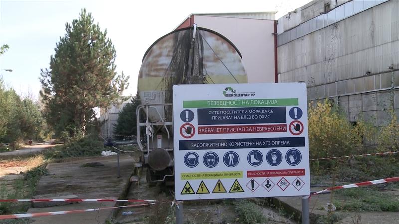 """""""О2"""" прашува: Дали Екоцентар ги исекол пругите во ОХИС за старо железо, кои биле единствен начин да се дислоцира вагонот со винил хлорид?"""