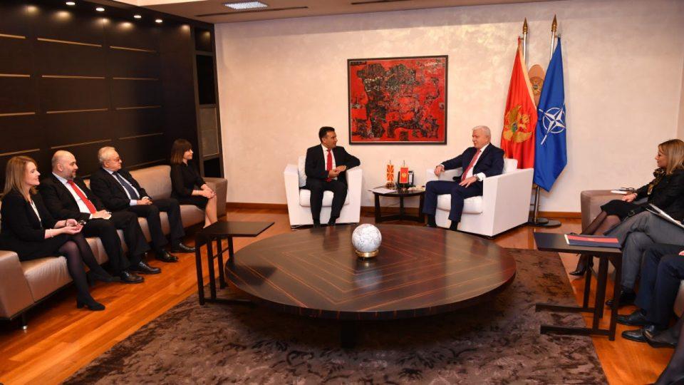 Одлични билатерални односи и зајакнување на соработката како идни сојузници во НАТО
