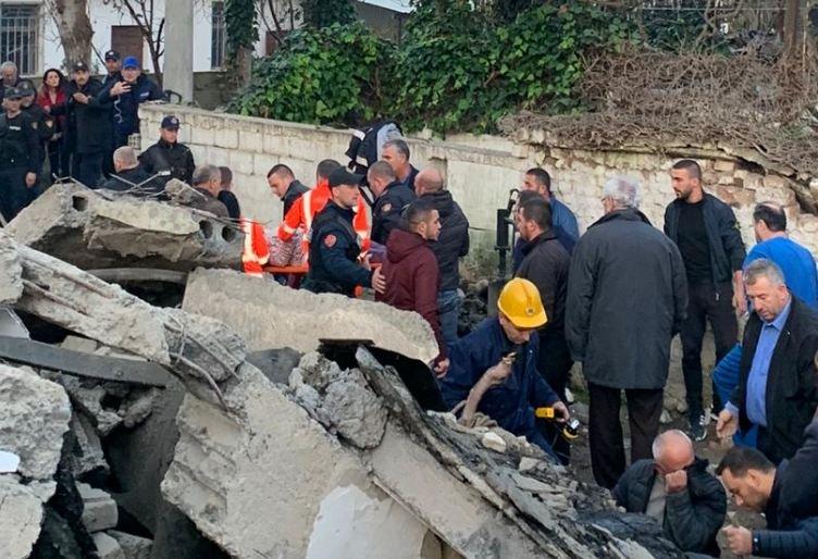 Објавени имињата на 46 лица кои загинаа во земјотресот во Албанија