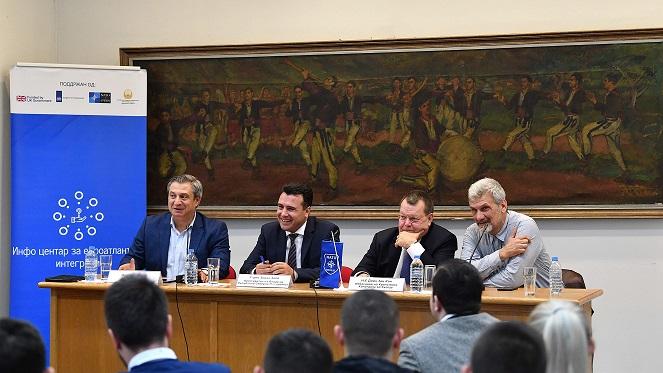Според премиерот во заминување, членството во НАТО е основа за  дополнителен економски раст и развој