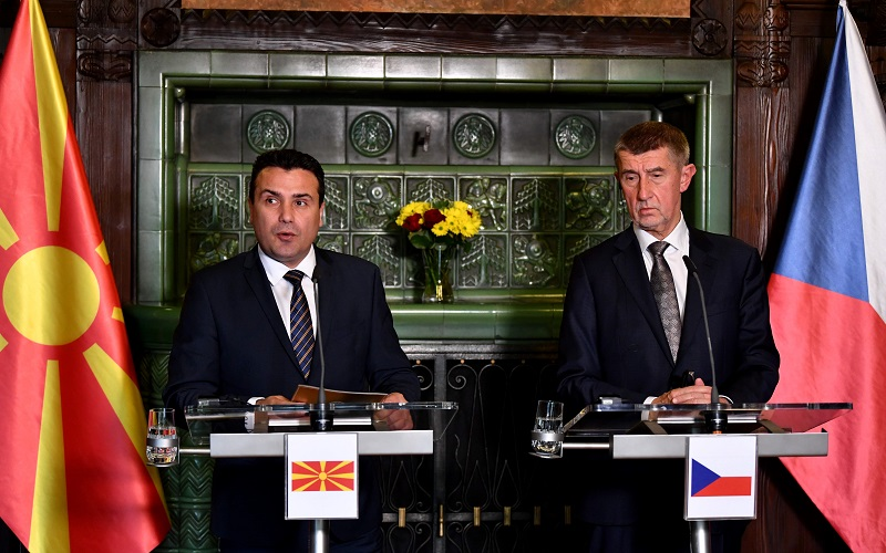 Поддршка од Чешка за позитивен исход до март за преговори со ЕУ