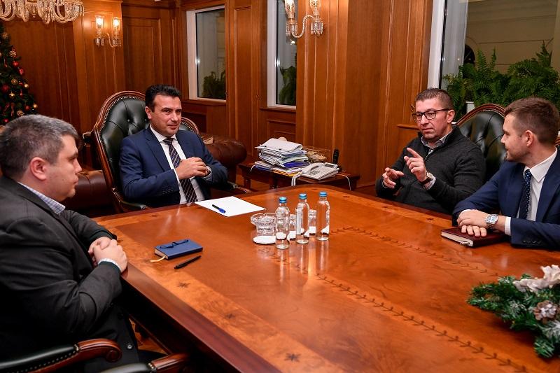 Заев го повикa Мицкоски да најдат решение за да се донесе законот за јавно обвинителство пред распуштање на Собранието
