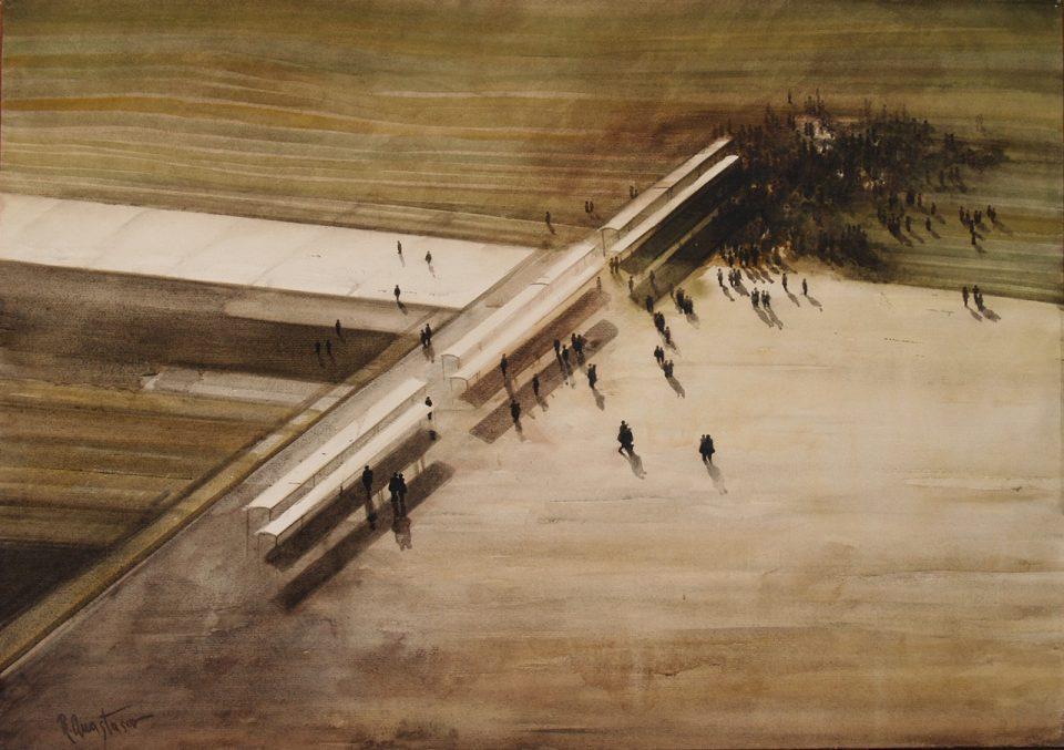 Годишна изложба на делата на Родољуб Анастасов во Музеј на град Скопје