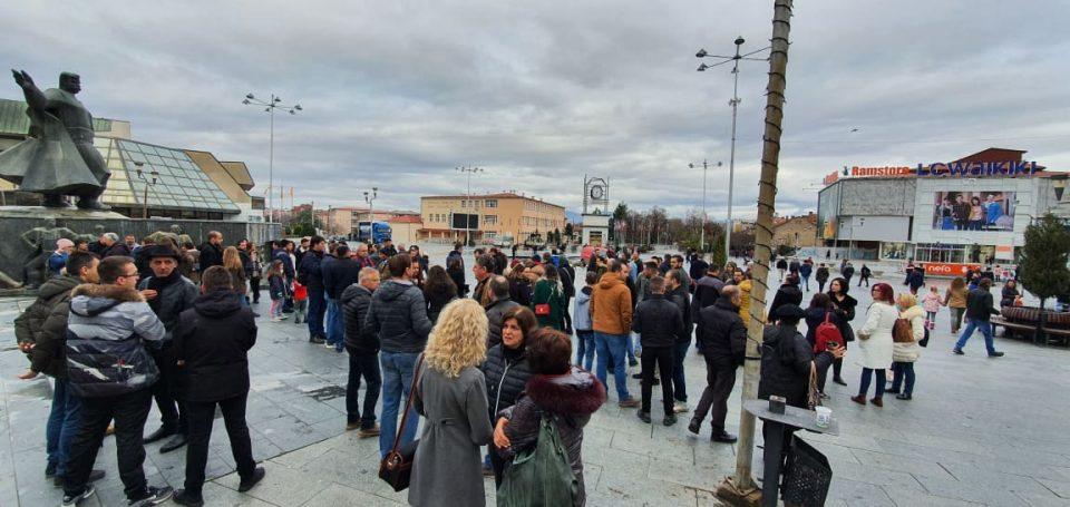 Протест во Струмица против загадениот воздух