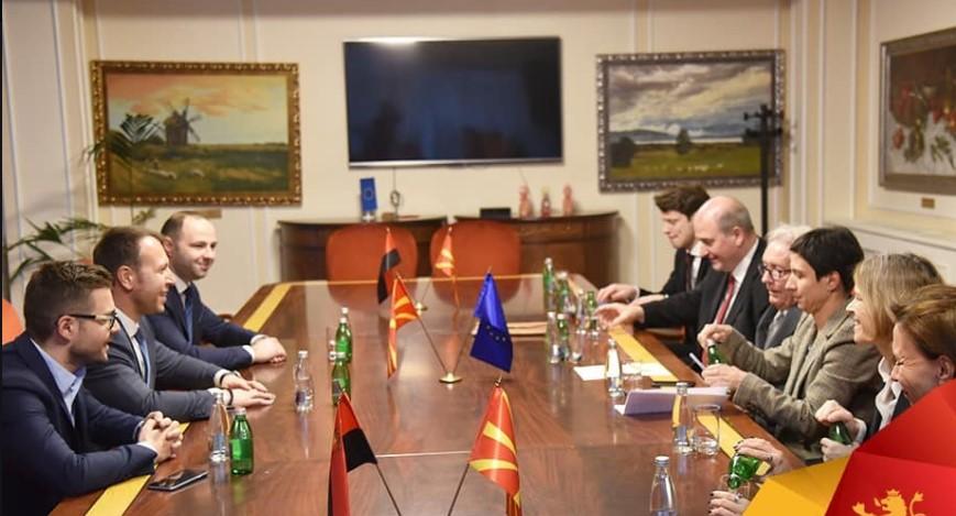 Мисајловски за средбата со Стефан Холтхоф Пфортнер: Итните реформи клучни за добивање датум за преговори