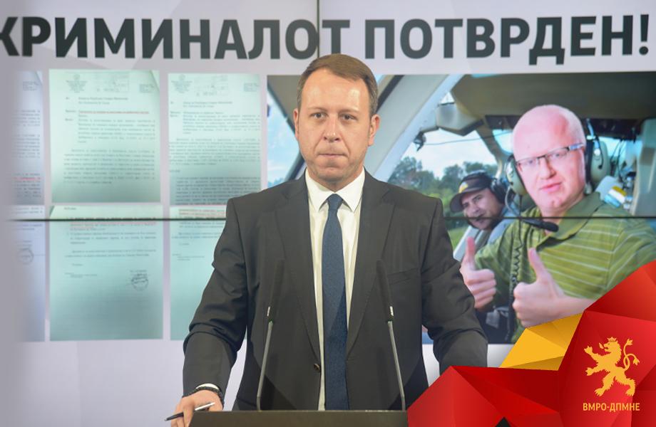 Јанушев покажа документи: Бизнисот со хеликоптерите ќе се финансира од патарините и ќе чини 72 милиони евра