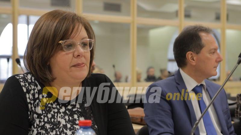 """Јанева отстранета од судењето, ѝ рекла """"ороспија"""" на Стефанова"""
