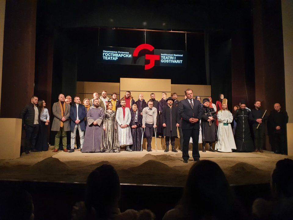 Исмаили го честиташе отворањето на гостиварскиот театар: Театарот е храм на јазикот и културата и ако не го поддржуваме, стануваме странци во сопствената душа