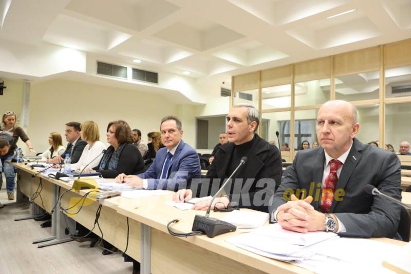 Дуковски: На Боки 13 му се одземени 71 вреќа гардероба