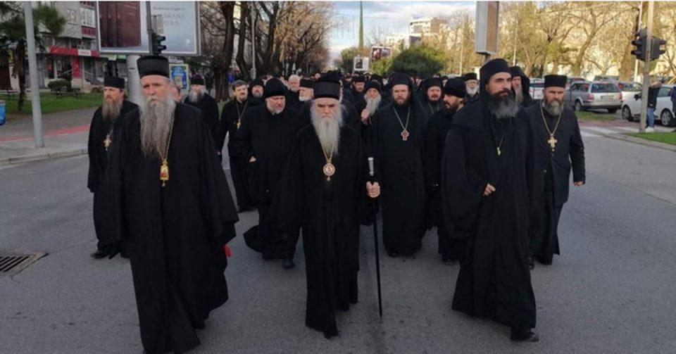 Во Црна Гора повеќе свештеници на СПЦ приведени на информативни разговори