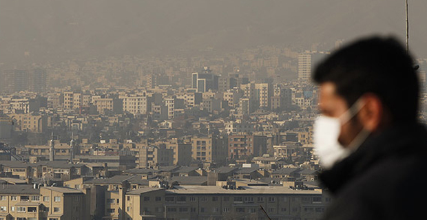 Иран ги затвори училиштата поради загадениот воздух