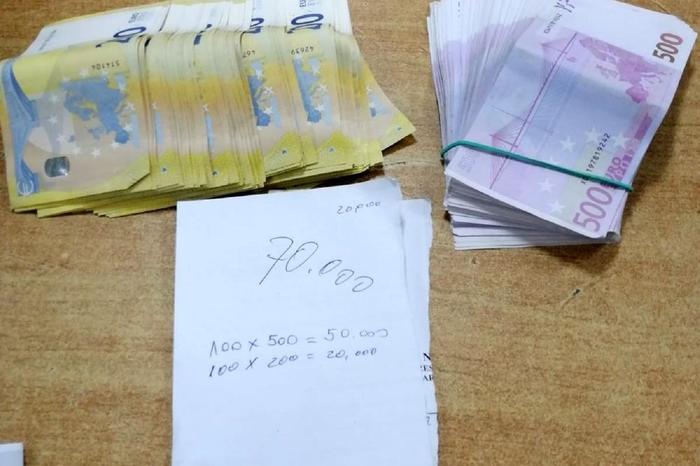 Турчинка шверцувала 70.000 евра во градник