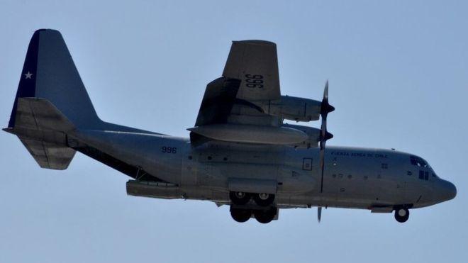 Се урна чилеански воен авион со 38 лица