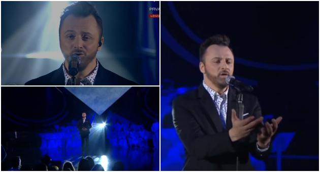 """Кајмакоски победи во полуфиналето на """"Твоето лице звучи познато"""""""