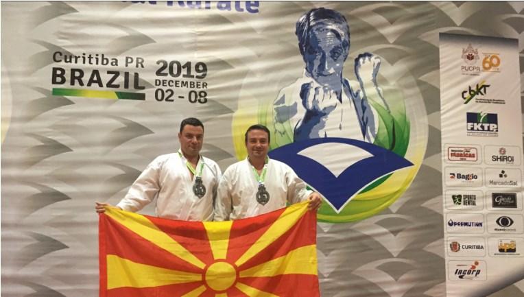Бронзен медал во ен-бу за Дејан и Аљоша Недеви на шампионатот во Бразил