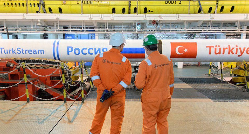 """Од 1 јануари почнува транзитната испорака на природен гас од """"Турски поток"""" кон Грција и Македонија"""