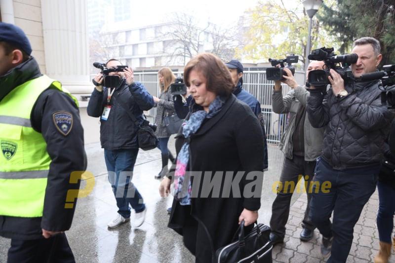 """Јанева и Кичеец пристигнаа на судењето за """"Рекет"""""""