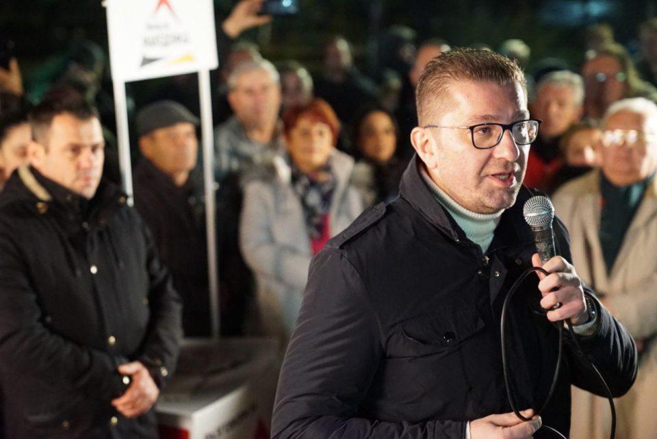 Мицкоски: Партијата нема ништо со компаниите на Камчев, но има нелегално замрзнат имот и не може да функционира