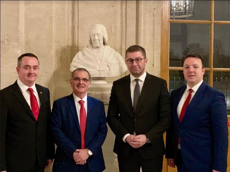 Мицкоски порача од Париз: Обновата за која се залага ВМРО-ДПМНЕ се однесува на промени кон подобро