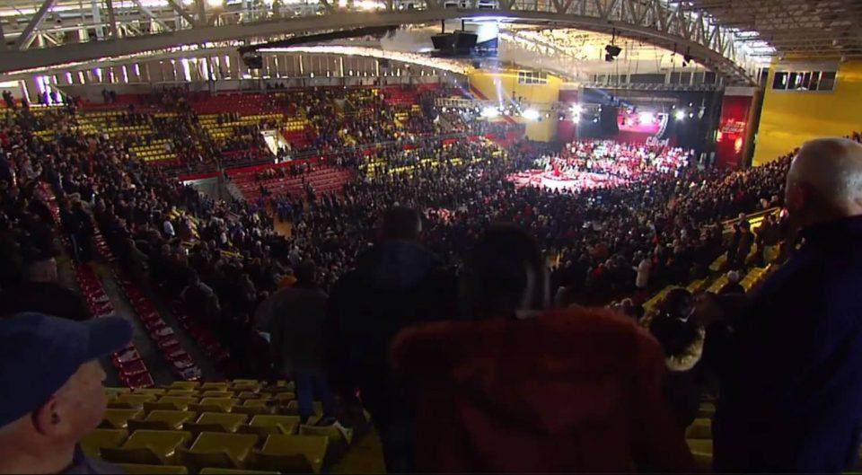 СДСМ: Преполната сала на граѓанската трибина во Скопје покажа дека сме партија што обединува и води напред!