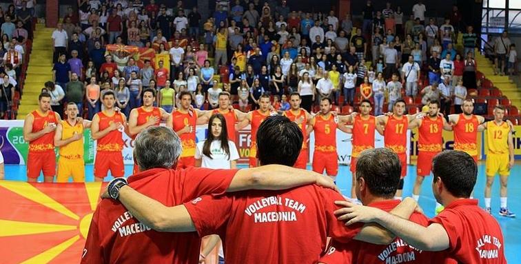Македонските одбојкари ќе играат со Чешка, со Турција и со Естонија
