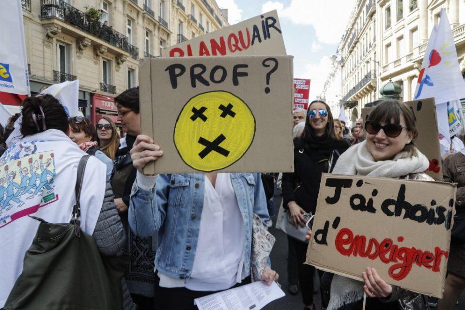 Се е блокирано: Милиони работници на генерален штрајк во Франција
