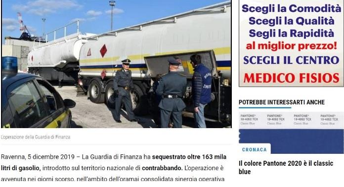 Полицијата во Италија заплени 163.000 литри нафта шверцувана од Албанија