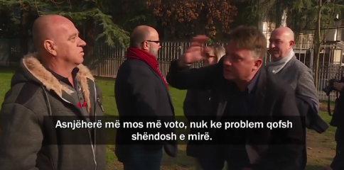 "Шилегов арогантно до револтиран граѓанин: ""Никад више да не ме гласаш"""